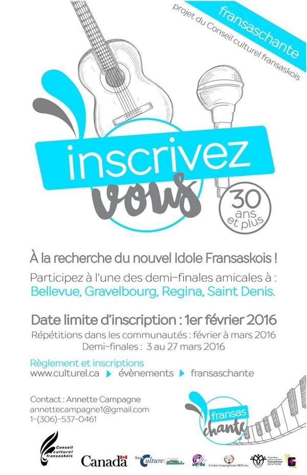 Fransaschante 2016 - Affiche