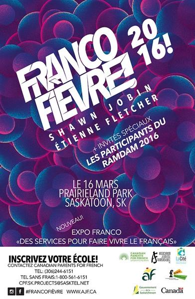 Affiche de la Francofièvre 2016