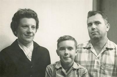 Zachary Richard et ses parents