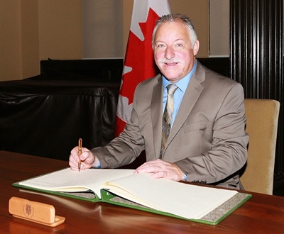 Darrell Samson, député fédéral de Sackville-Preston-Chezzetcook