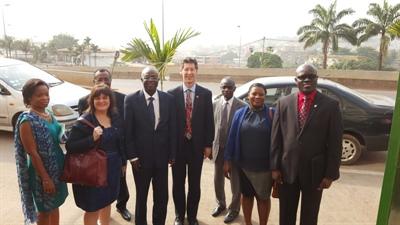 Mission de recrutement du Collège Mathieu à l'étranger