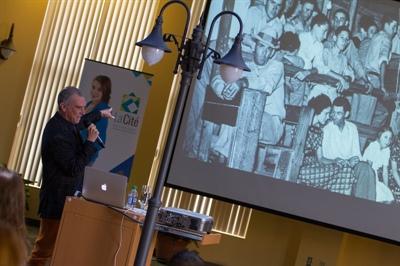 Conférence de Zachary Richard à la Cité universitaire francophone