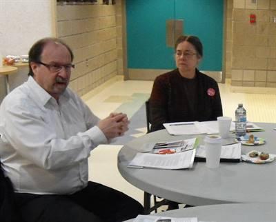 Roger Gauthier et Dre Anne Leis