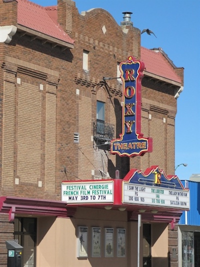 Cinergie 2016 au Roxy Theatre de Saskatoon