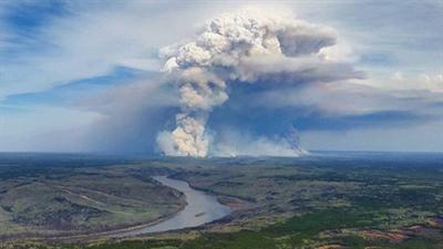 Le feu dans la région de Fort McMurray