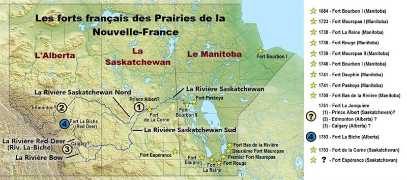 Les forts des Prairies de la Nouvelle-France
