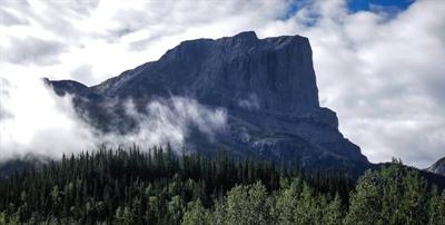 Roche Miette en Alberta