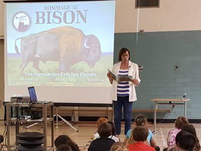 Lancement de Hommage au bison