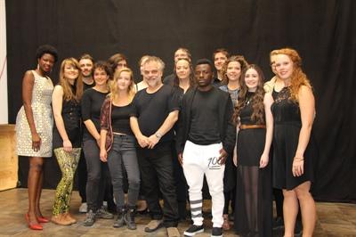 L'équipe et les artistes de Nouvelle scène 2016