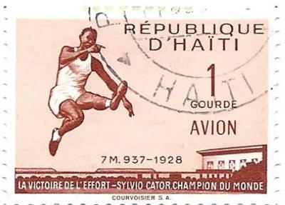 Sylvio Cator, le héros olympique haïtien