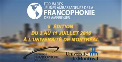 Forum des jeunes ambassadeurs 2016