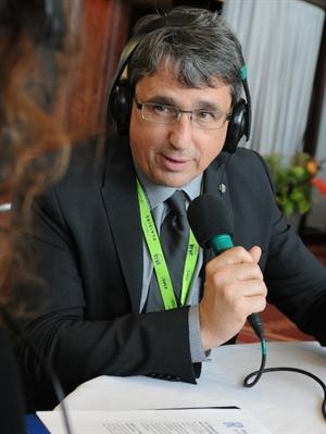 Denis Desgagnés, président directeur général du Centre de la francophonie des  Amériques