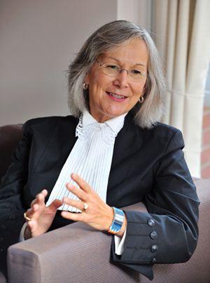Marion Buller, commissaire en chef de l'enquête nationale publique sur les femmes autochtones disparues ou assassinées