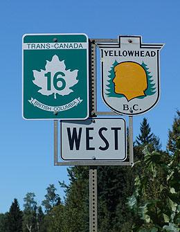 La route Yellowhead