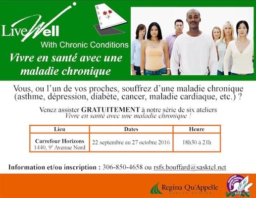 Vivre en santé avec une maladie chronique