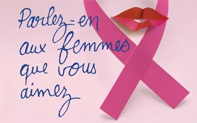 Sensibilisation au cancer du sein