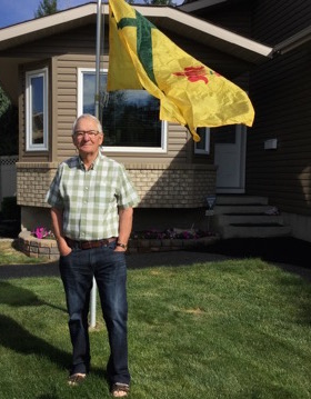 Pat Connolley, éducateur et agriculteur à la retraite