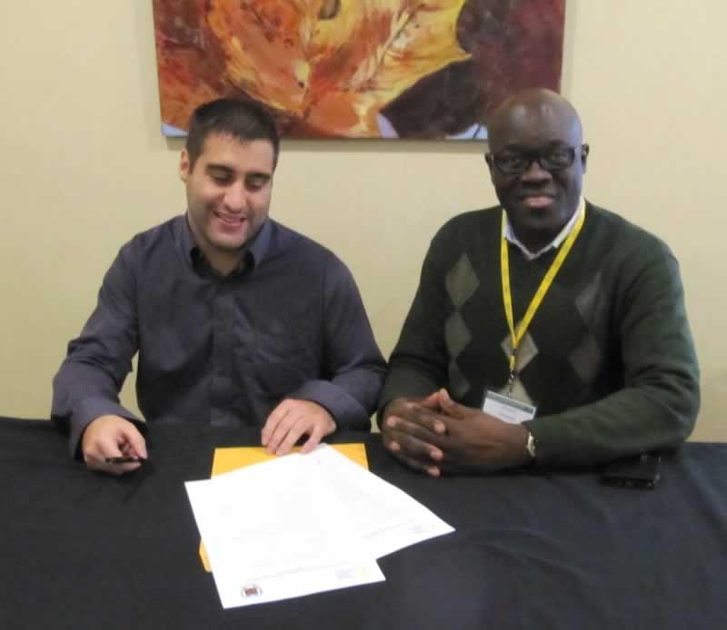 Entente entre le Collège Mathieu et l'Association jeunesse fransaskoise