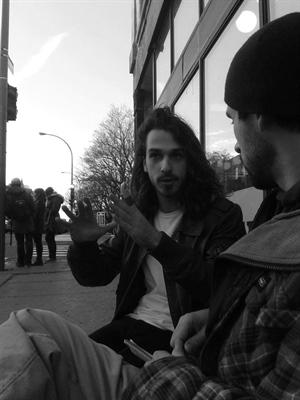 Mario Lepage en entrevue après la performance de PONTEIX au festival M pour Montréal