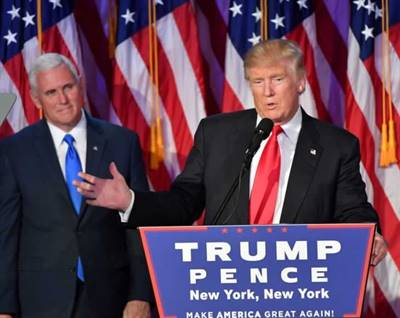 Trump et Spence
