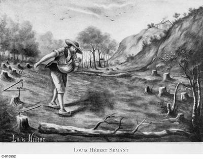 Louis Hébert, le premier cultivateur en Nouvelle France
