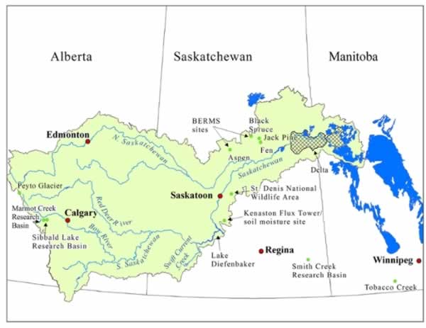 Bassin versant de la rivière Saskatchewan