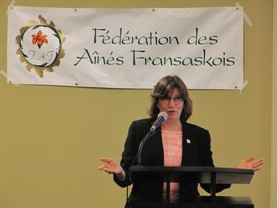 Guylaine Martin, directrice générale de Baluchon Alzheimer