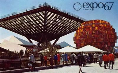 Expo 67 - Pavillon du Canada