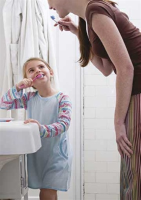 Apprentissage de l'hygiène dentaire