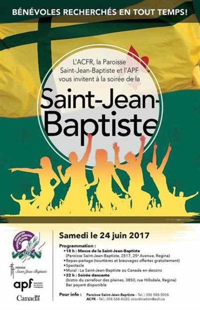 Saint-Jean-Baptiste 2017 à Regina