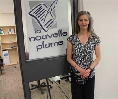 Katarina Fasiangova, la nouvelle employée des Éditions de la nouvelle plume