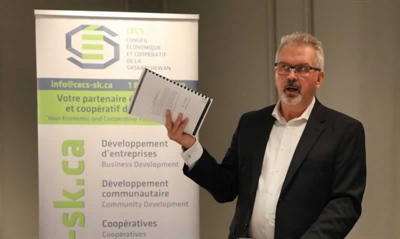 Robert Therrien, le directeur du Conseil économique et coopératif de la Saskatchewan