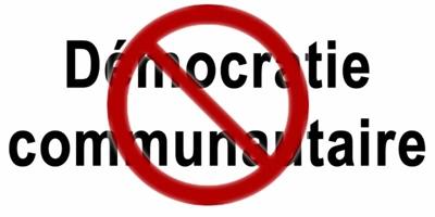 Démocratie communautaire