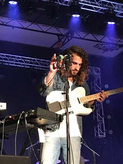 Mario Lepage au Regina folk Festival 2017