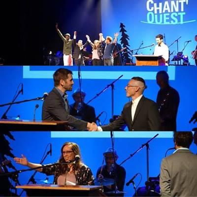 Byrun Boutin-Maloney et Mireille Labbé les grands gagnants du Chant'Ouest