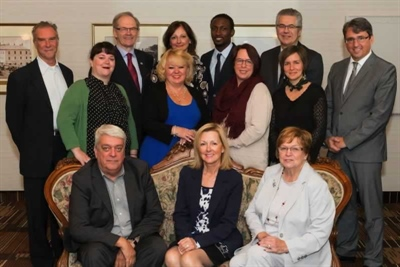 Conseil d'administration du Centre de la francophonie des Amériques - 2016