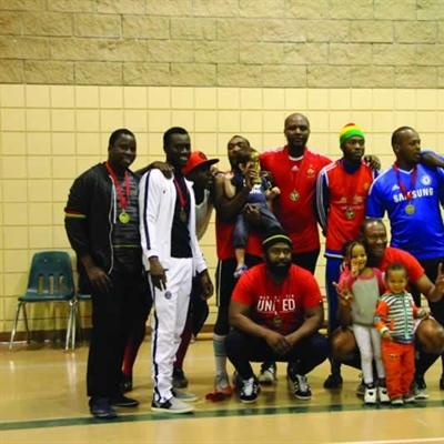 Les Sénégalais ont été sacrés champions de la première édition du Tournoi fransaskois de soccer des nations.