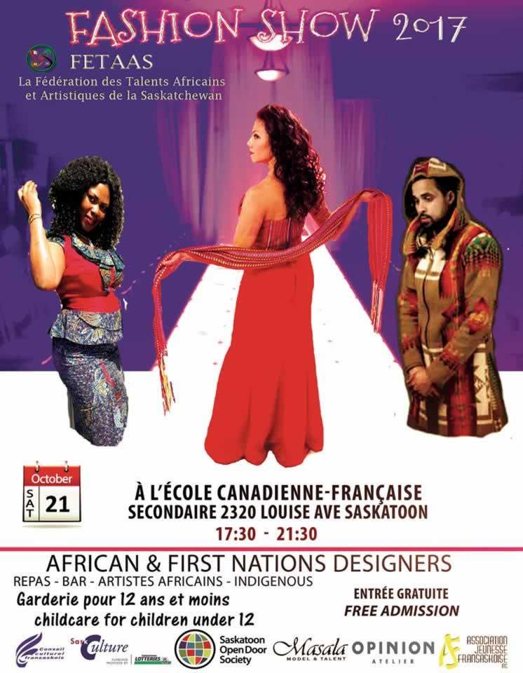 Défilé de mode de désigner africains et des Premières Nations