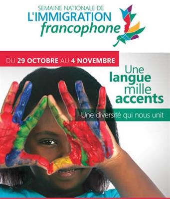 Semaine nationale de l'immigration francophone 2017