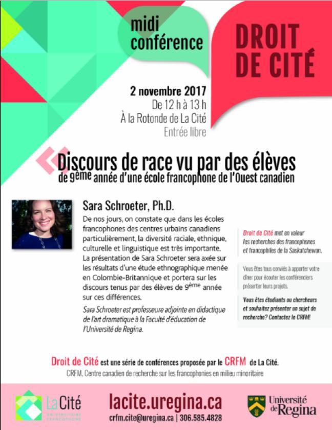 Mdii-conférence: Discours de race vu par les élèves