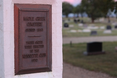 Cimetière de Maple Creek