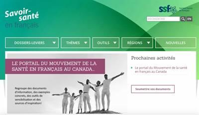 Portail Savoir santé en français