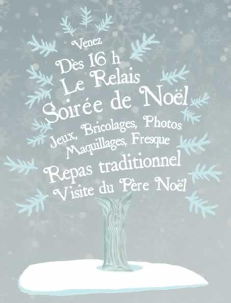 Soirée de Noël au Relais
