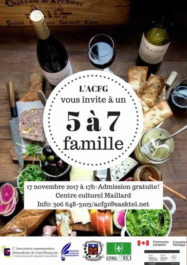 5 à 7 famille à Gravelbourg