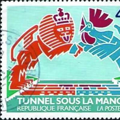 Un timbre à l'honneur du Tunnel sous la Manche