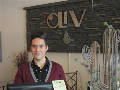 Joe Jackson, gérant chez Oliv Tasting Room à Saskatoon