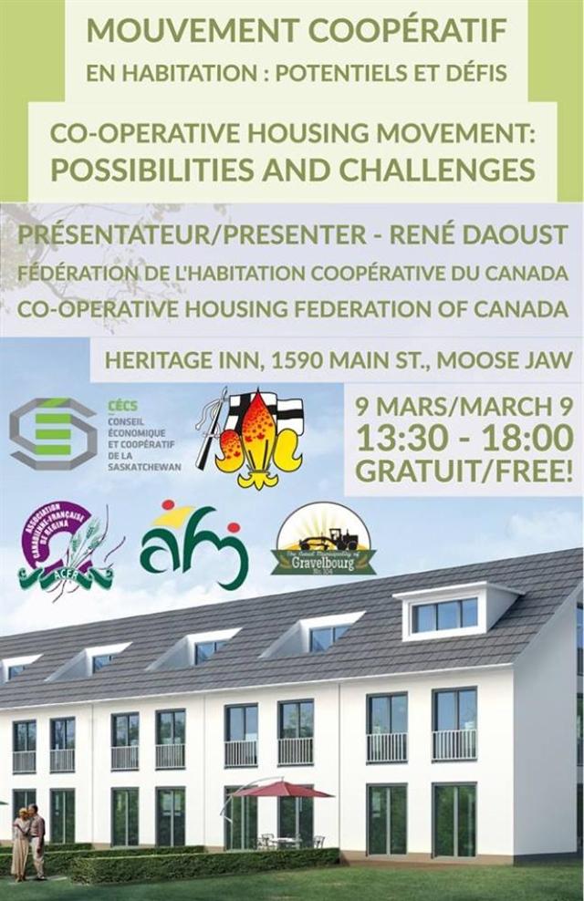 Conférence sur le mouvement coopératif en habitation