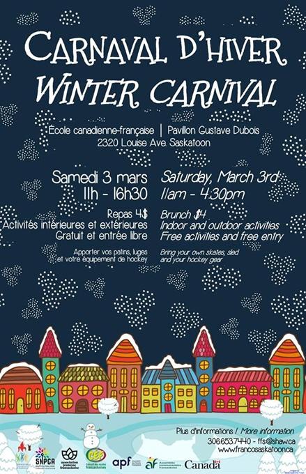 Carnaval d'hiver à Saskatoon