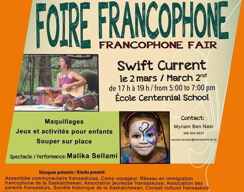 Foire francophone à Swift Current