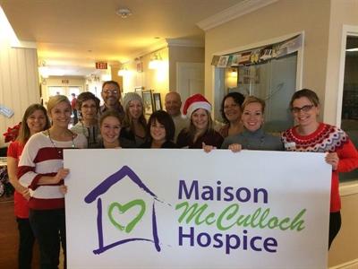 Les bénévoles à la Maison McCulloch Hospice